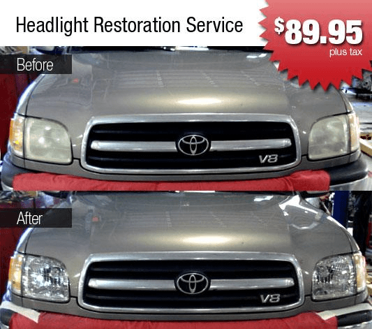 Over Time, Headlamp Lenses Can Become Yellow, Cloudy, And Pitted. Many  Drivers Of Older Cars Are Faced With Ineffectual Headlights Because The  Cloudy Lenses ...